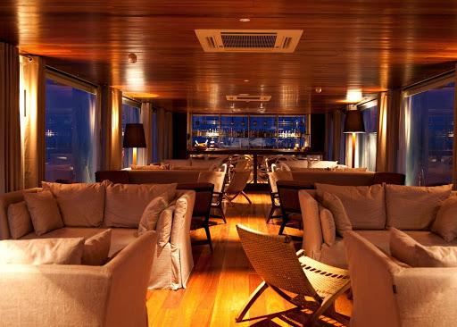 Aria-lounge - Aria's upscale lounge bar serves premium spirits and spectacular views.