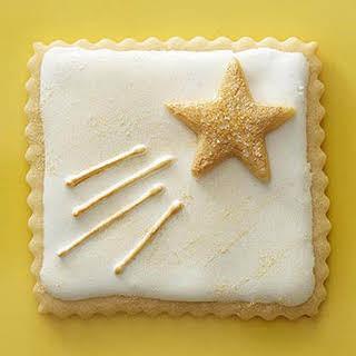 Shooting Star Cookies.