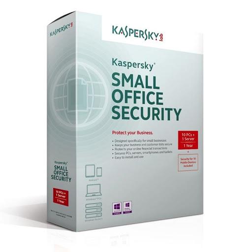 Phần mềm Kaspersky KSOS 1 Server+10PCs