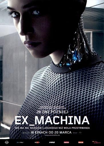 Przód ulotki filmu 'Ex Machina'