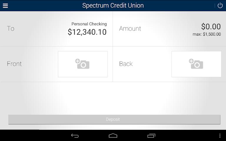 android Spectrum CU Mobile Banking Screenshot 9
