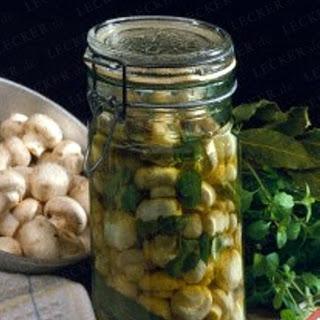Champignons in Majoran-Sud Recipe