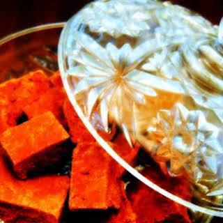 Spicy Marshmallow Fudge.