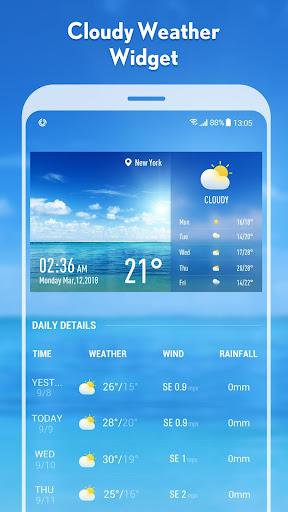 5-day Weather forecast &weather widget 10.3.5.2353 screenshots 1