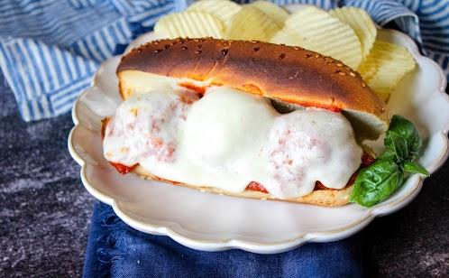 Italian Meatball Subs or Sliders