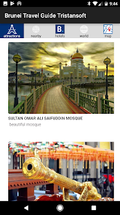 Brunei Travel Tristansoft - náhled