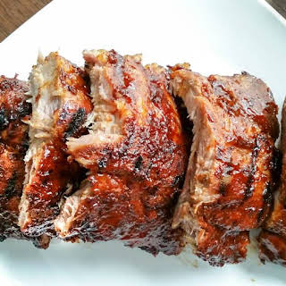 Sweet & Spicy BBQ Ribs.
