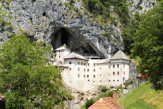 Photo: Przepiękny zamek W Predjamie, jak z pocztówki :))