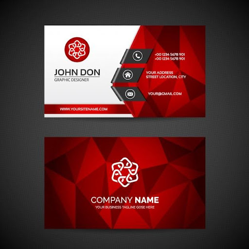 Business Card Maker Free Visiting Card Maker photo screenshot 10