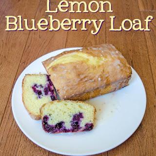Lemon Blueberry Loaf.