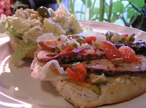 Dee Dee's Raid The Fridge And Pantry Sandwich Recipe