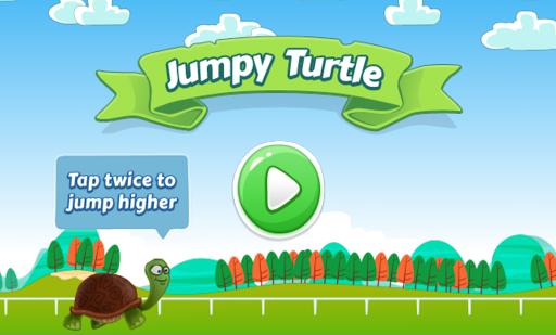 Jumpy Turtle - Best Tap Game screenshot
