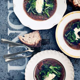 Lamb and Broccoli Stew