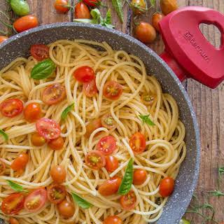 Oil and Garlic Pasta.