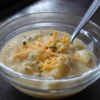 Healthy Potato Soup.