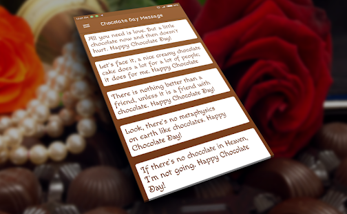 Valentines day chocolate day messages apps on google play screenshot image m4hsunfo