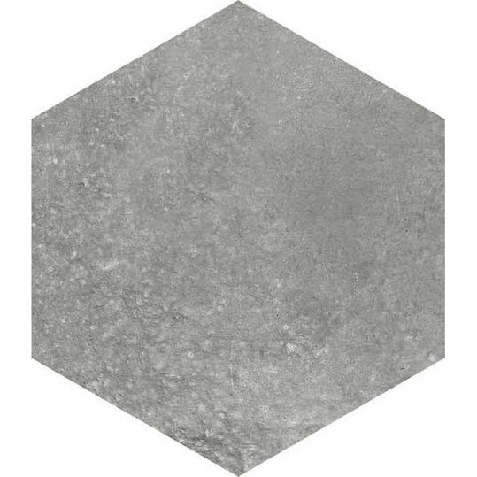 Klinker Hexagon Rift Grafito 23x26,6