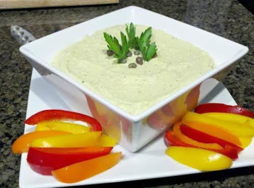 "Edamame Hummus ""A fresh, bright take on classic hummus."" - jmsqueglia"