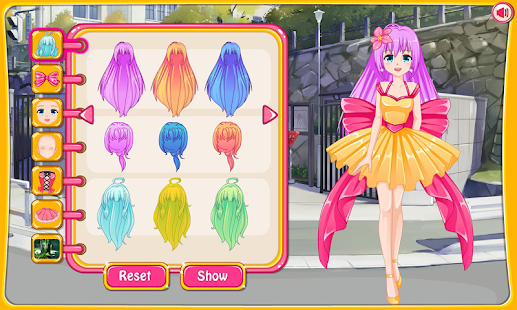 Dress up avatar game - náhled
