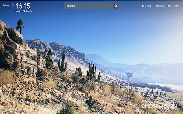 Ghost Recon Wildlands Wallpapers Theme