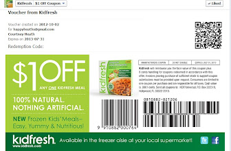 Photo: ohhh I love coupons! Right now on Kid Fresh Facebook page you can print out a coupon.