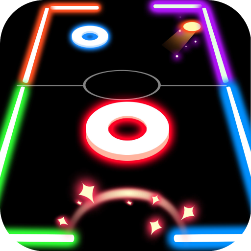 Finger Glow Hockey file APK for Gaming PC/PS3/PS4 Smart TV