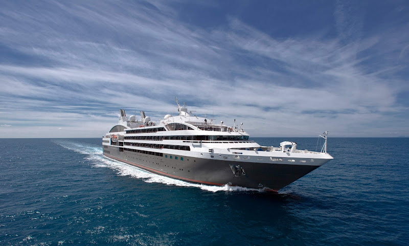 Board Le Boreal, a Ponant luxury ship, for yacht-style cruises to Scandinavia, Russia or Antarctica.