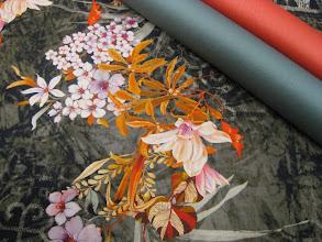 Photo: Ткань: Плательная Kenzo нат. шелк, шерсть ш.1,50 см. 2500р. Ткань: шерть стрейч Armani double face ш. 1,40 см. 3200р.