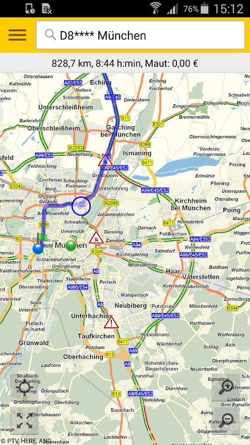 ADAC Maps für Mitglieder- screenshot