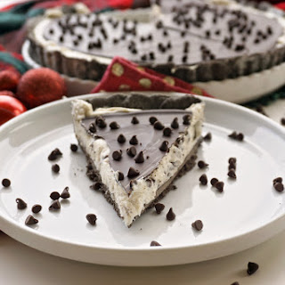 Chocolate Cannoli Tart