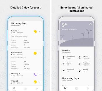 Overdrop Pro - Animated Weather & Widgets Screenshot