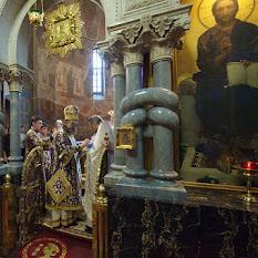 Рукоположение отца Евстратия  в священника нашего храма  в Кирилловской церкви митрополитом Антонием