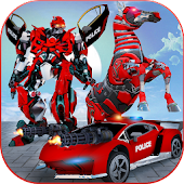 US Police Multi Robot Transform: Wild Horse Games