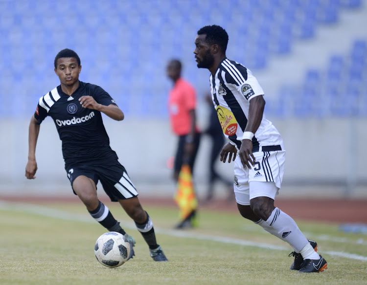 New Orlando Pirates' teenager Augustine Mohlonoko.