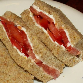 Tomato Tea Sandwich
