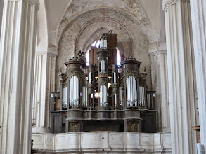 Photo: The organ at St Anne's