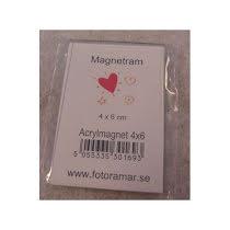 Magnetram 4x6 cm