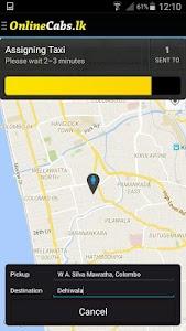 Online Cabs - Taxi Sri Lanka screenshot 3