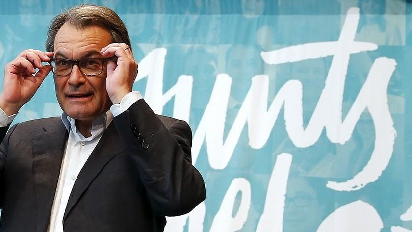 El expresidente catalán Artur Mas.
