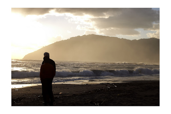 L'uomo e il mare di manolina