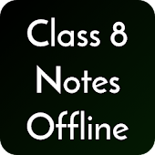 Class 8 Notes Offline Android APK Download Free By SUPERCOP