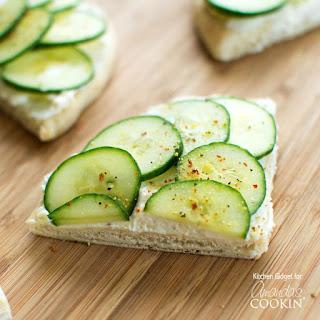 Cucumber Sandwiches Lemon Pepper Recipes