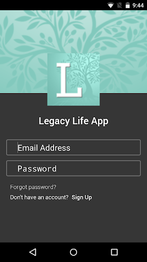 Legacy Life App