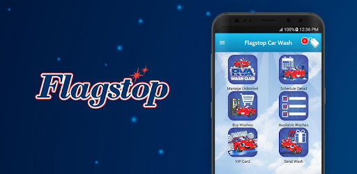Flagstop App will allow you to schedule detailing appointments, purchase prepaid