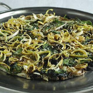 spinach leek mushroom Recipes