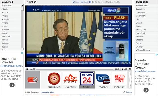 World TV Online