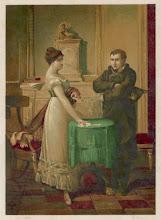 Photo: Lenormand kisasszony Napoleonnak jövendöl.