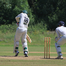 by John Davies - Sports & Fitness Cricket ( gloucestershire university, pontardawe cc, cricket, jd photography, swansea university, university cricket )