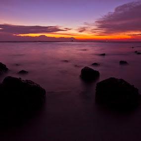 Pantai Remis by Azmil Omar - Landscapes Sunsets & Sunrises ( pwcotherworldly )