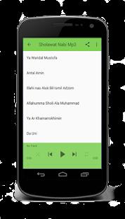 Sholawat Nabi Mp3 Download - náhled